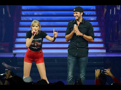 Taylor Swift Ft.Luke Bryan - I Don't Want This Night to End (DVD The RED Tour) B么nus