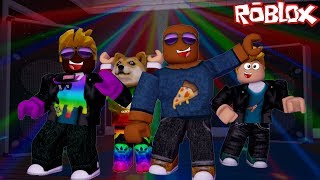 WE'RE GOING TO DISCOTECWITH THE PROFESSOR ROBLOX SCHOOL ROLEPLAY