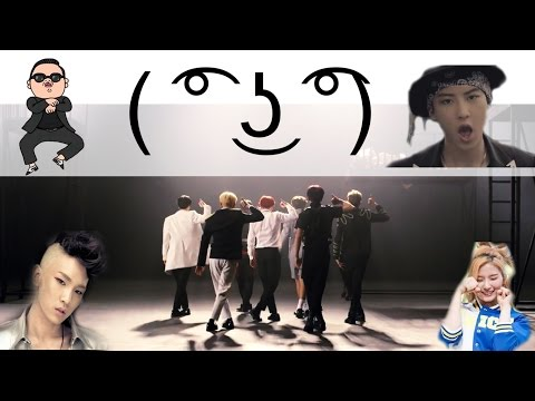 BTS - DOPE(쩔어) but when it gets said a LEGENDARY KPOP song plays! hoho