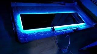 видео Светодиодная подсветка зеркала своими руками