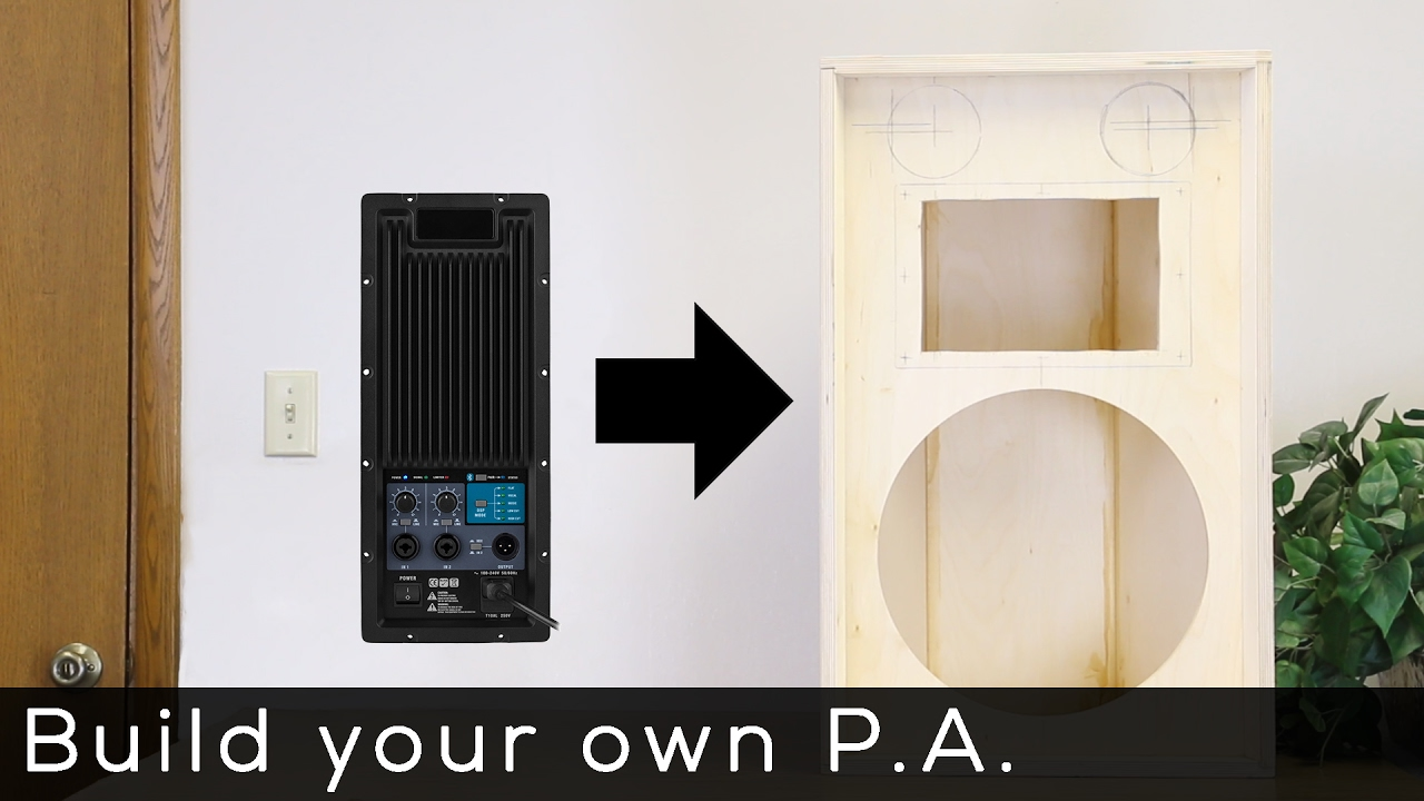 Dayton Audio PMA800DSP PA Amplifier Product Spotlight