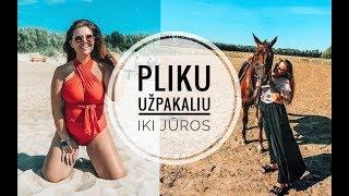 #Vlog: nuogu užpakaliu iki jūros