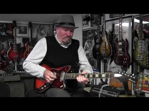 1960s Harmony H19 Guitar Demo