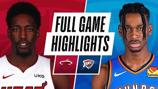 HEAT at THUNDER | FULL GAME HIGHLIGHTS | February 22, 2021