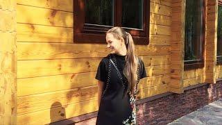 """Drewniany dom z drewna klejonego projektu """"Mirage"""" 99 m ²"""