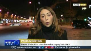 Paris police say officer and attacker shot, killed on the Champs-Elysees