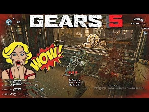 """117 Eliminations"" Gears 5 Tech Test - Ranked KOTH (Full Gameplay) thumbnail"