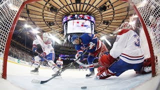 Neal Pionk uses all 200 feet of the ice for Rangers lead