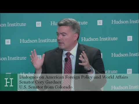Dialogues on American Foreign Policy and World Affairs: Senator Cory Gardner & Walter Russell Mead