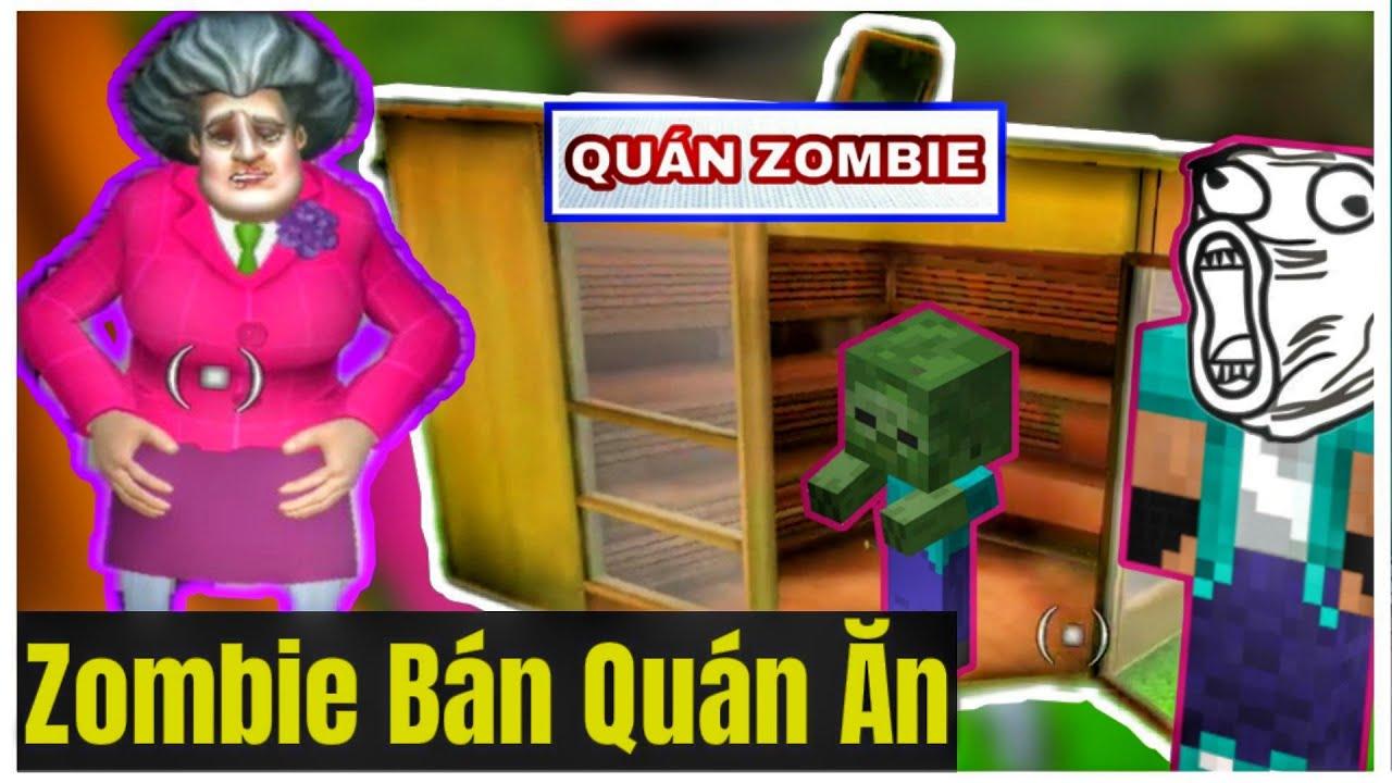 [ LỒNG TIẾNG GAME ] Zombie Bán Quán Ăn Giúp Cô Thảo Giảm Cân   MV Channel