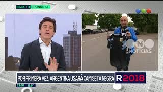 Argentina usará camiseta negra en el debut de Rusia - El Noticiero de la Gente