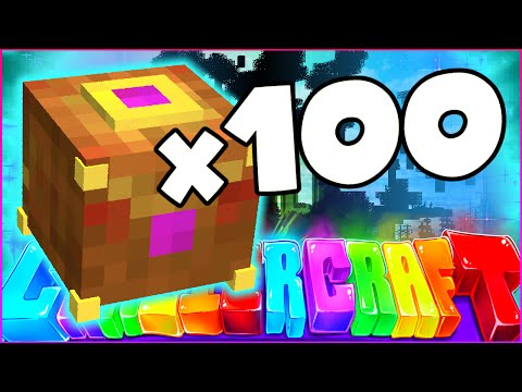 "Minecraft CRAZIER CRAFT SMP - ""100 PANDORA'S BOX OPENING"" - Episode 79"