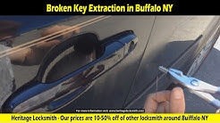 Broken key extraction -  Locksmith in Buffalo NY