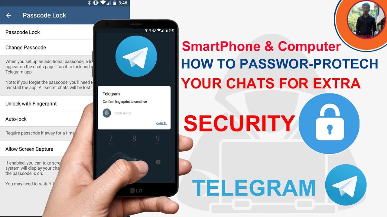 Download How To Create Password-Protect Chat On Telegram | How To Set Passcode Lock Telegram App.