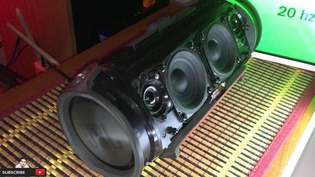 JBL Xtreme - 5Hz TO 60Hz !!! MASSIVE BASS!!!!