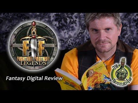 'Fighting Fantasy Legends' - Fantasy Digital Review