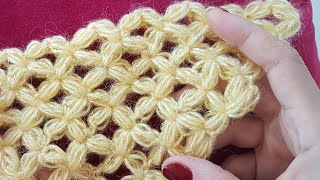 Kelebek Fıstık Üçgen Şal/ Butterfly Triangle Crochet Shawl