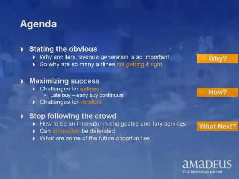 Part 1 of 3, Ancillary Revenue Airline Conference, Budapest