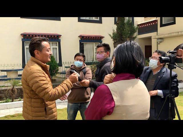 Lobsang Choejor, a member of Tibetan Parliamentary Standing Committee tenders resignation