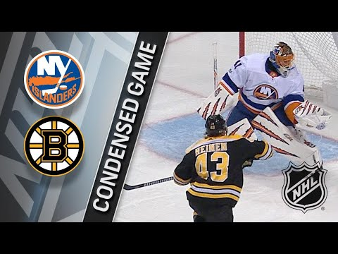 12/09/17 Condensed Game: Islanders @ Bruins