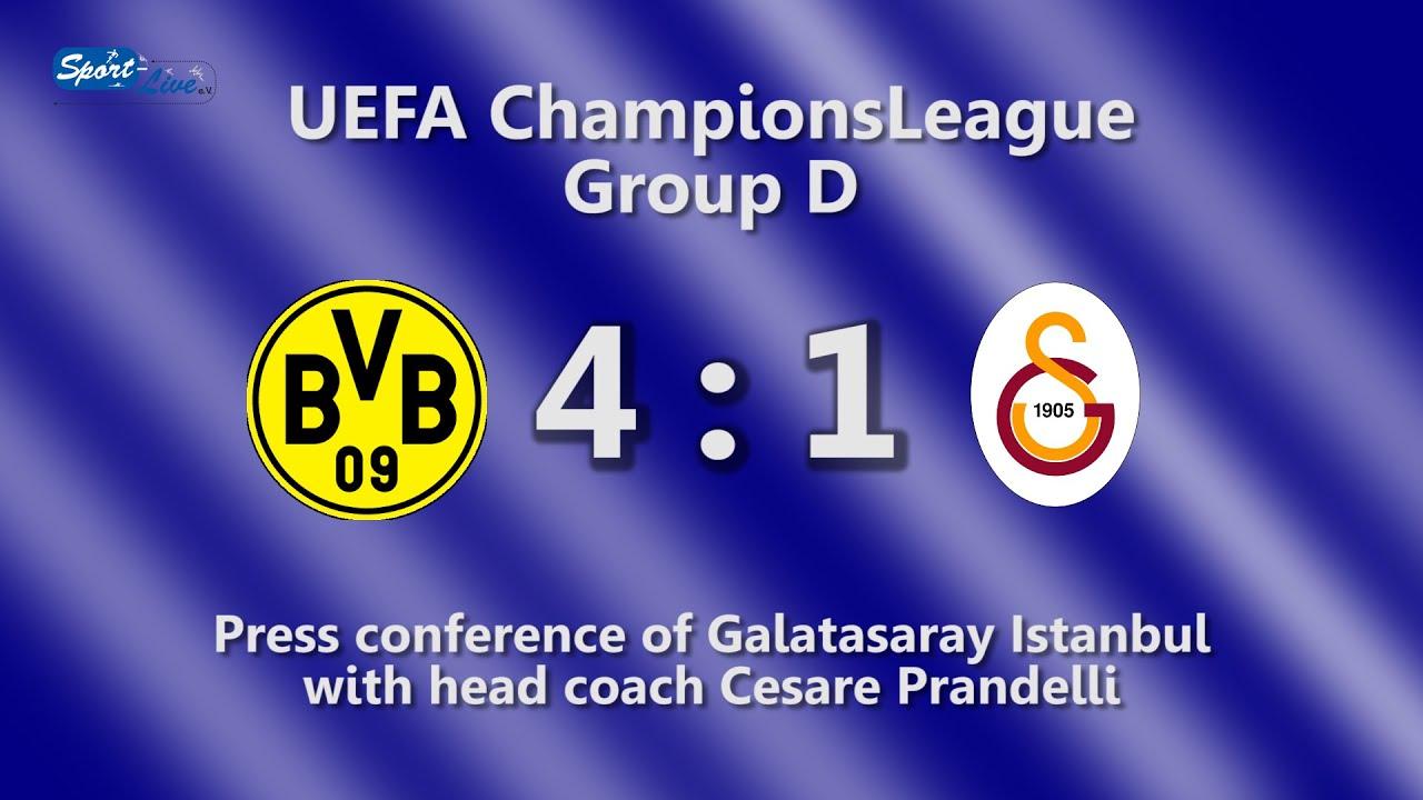 Galatasaray Pk nach UEFA ChampionsLeague: Borussia Dortmund - Galatasaray Istanbul