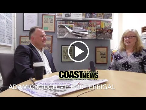 Central Coast Video News - Adam Crouch MP for Terrigal