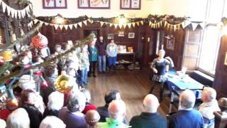 Halsway Choir - Hark the Herald Angels Sing (West Gallery)