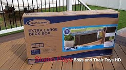 Review of the Suncast Extra Large Deck Box.