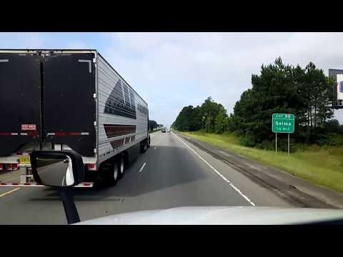 BigRigTravels LIVE! Kenly, North Carolina to Hardeeville, South Carolina I-95 South-Aug. 19, 2018