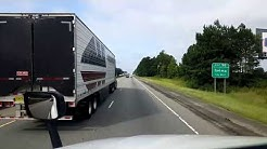 BigRigTravels LIVE! Kenly, North Carolina to Hardeeville, South Carolina I-95 South-Aug. 19, 2018