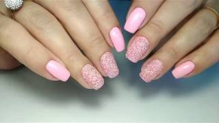 меланж (сахарок, мармелад) на ногтях. Как наносить, дизайн