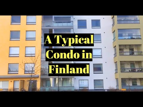 What's Inside a Typical  Apartment in  Finland?