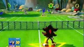 Shadow VS Sonic - SEGA Superstars Tennis