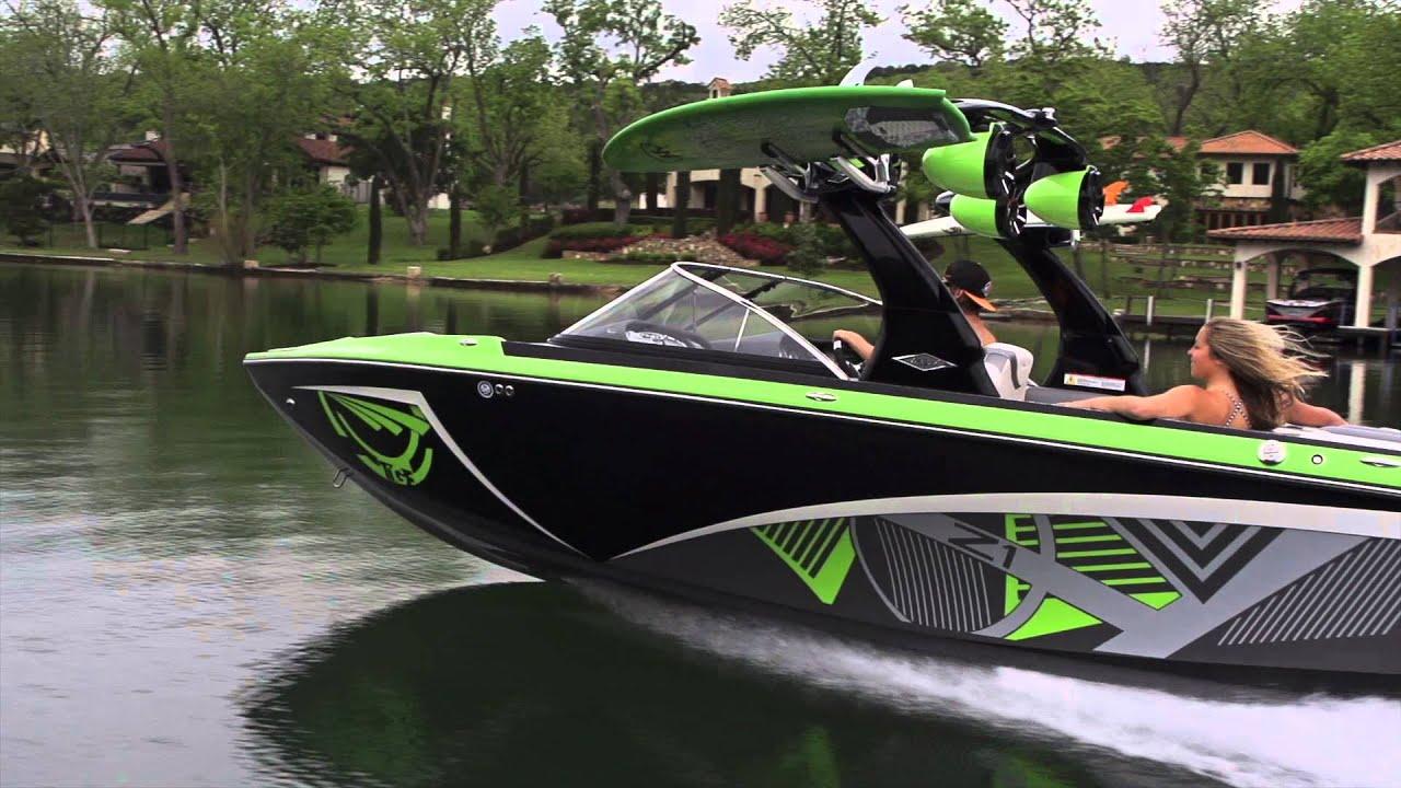 2013 Tige Z1 The Best 21ft Wakesurf Boat Youtube