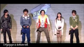 Kyoryuger vs Go Buster Talk Premiere
