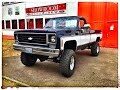 1976 Chevy K20 Pickup V8 350 4x4 Longbed Fleetside V8 Sound
