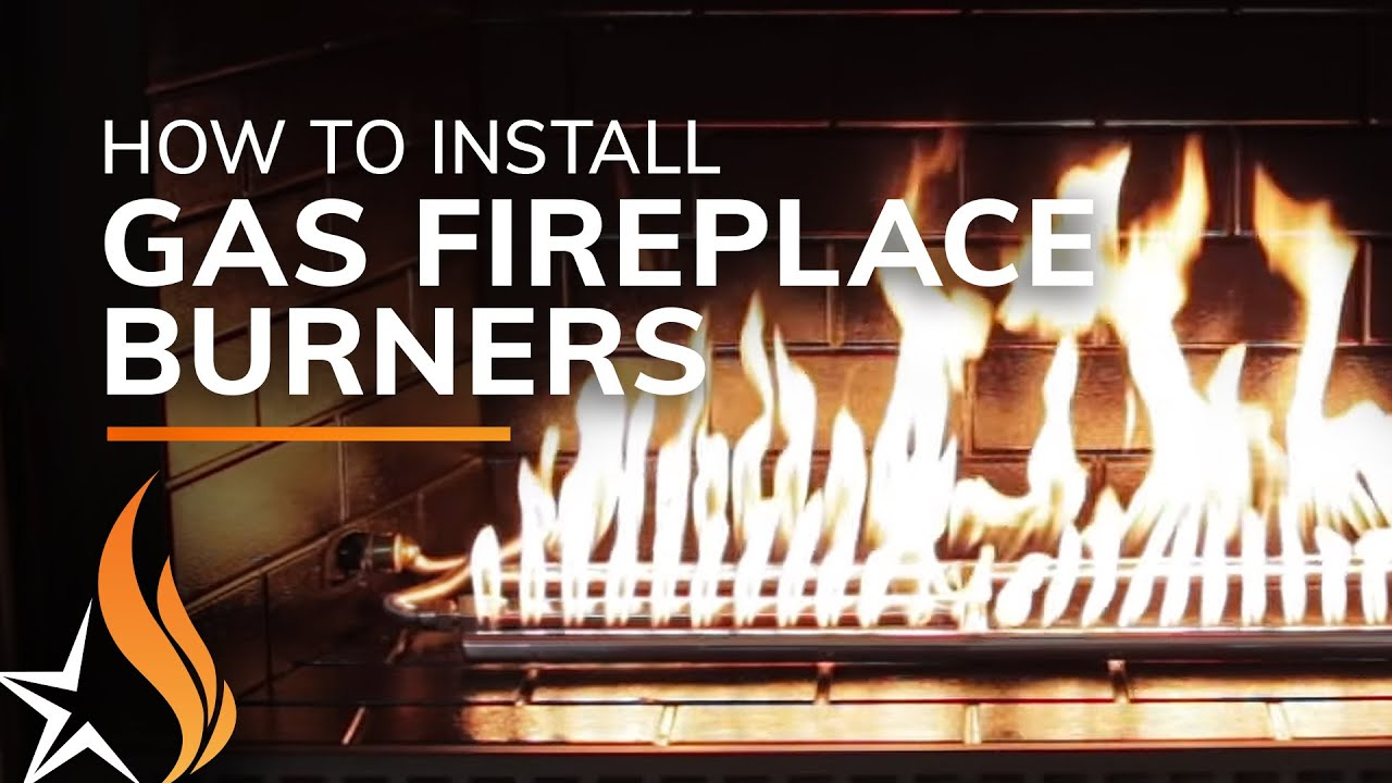 natural gas fireplace vented how to install an hburner and fire glass in your fireplace by starfire direct youtube