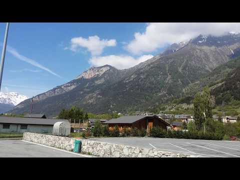 Италия - Франция Альпы короткая остановка 🚛