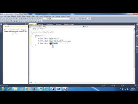 vsp6 calling c++ code from c# Inject DLL in global hooks windows Part 6