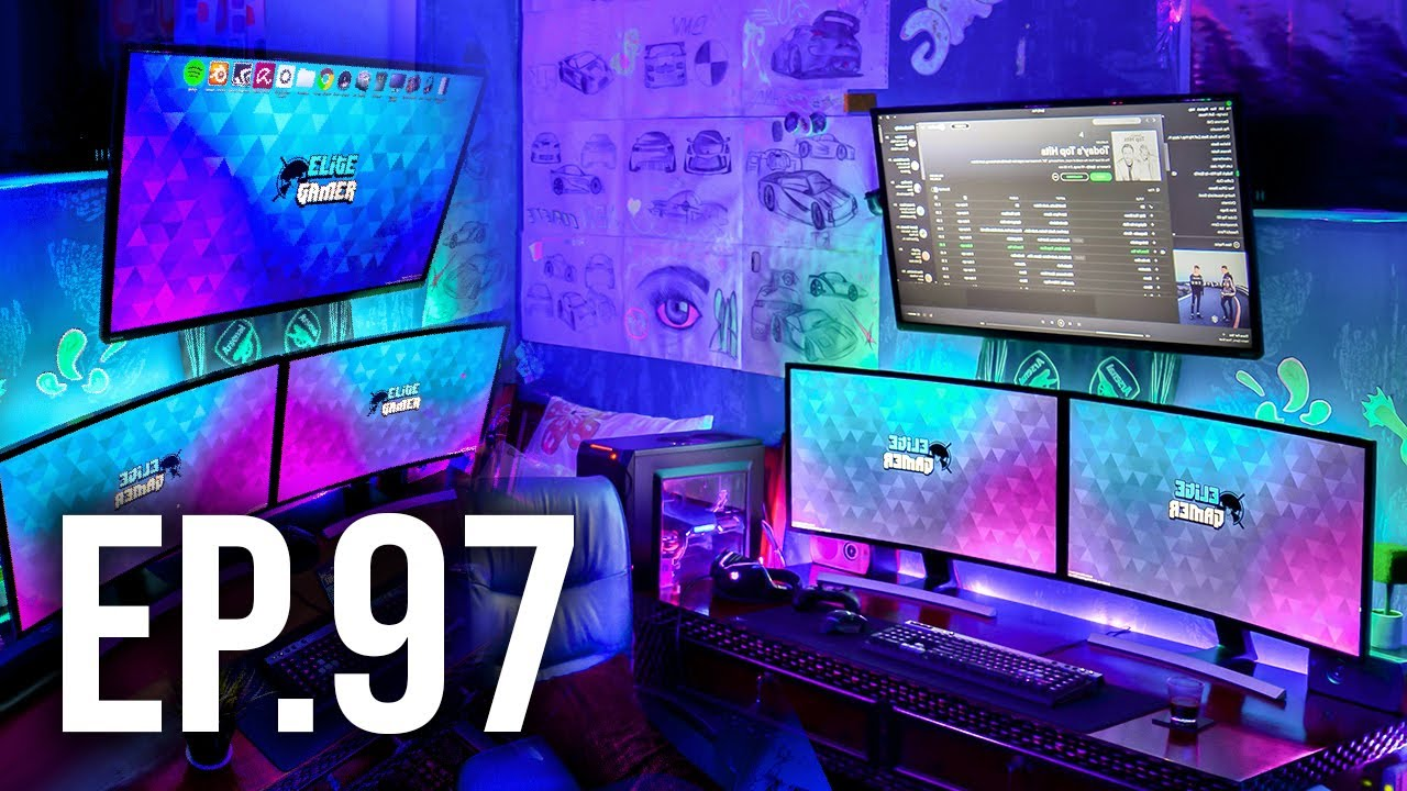Room Tour Project 97 Best Gaming Setups Youtube