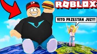 Jestem NAJGRUBSZYM człowiekiem na ŚWIECIE w ROBLOX! | Vito i Bella