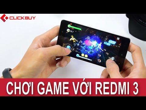 Clickbuy - Đánh giá hiệu năng chơi game của Xiaomi Redmi 3 !!!