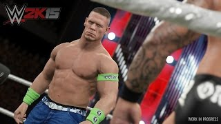 WWE2K15/GAME MODE/TABLE MATCH
