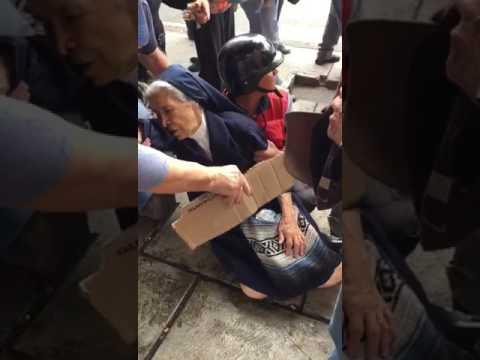 Régimen asesino le cae a bombazos a una pobre monjita