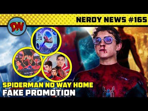 Spiderman Fake Promo, Invincible Movie, Black Superman, Doctor Strange 2, Hawkeye | Nerdy News #165