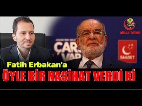 Fatih Erbakan'ı Böyle Anlattı!!
