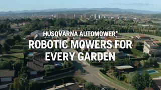How Automower® Robotic Lawn Mower cuts your grass to perfection | Husqvarna