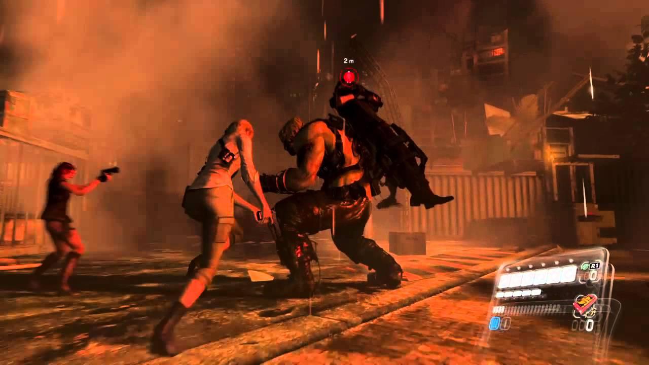 Resident Evil 6 Ps4 Hd Ustanak Battle Gameplay Youtube