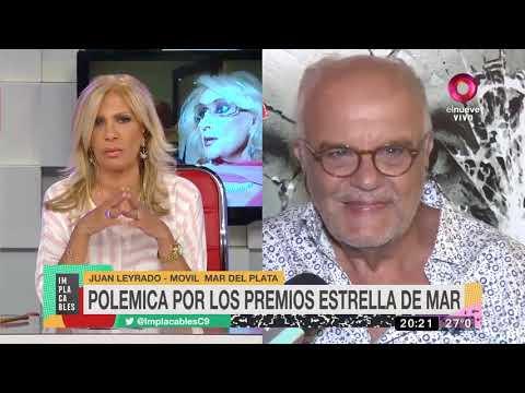 Juan Leyrado aclaró polémicas por premios Estrella de Mar