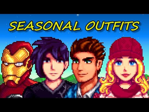 Stardew Valley | Seasonal Outfits Mod